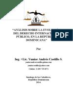 Análisis Sobre La Evolución Del Derecho Internacional Público, En La República Dominicana