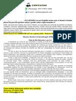 2º E 3º SEMESTRE CST Em Logística 2021 - Rede de Mini Mercados Luza S.A