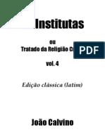 As Institutas V.4
