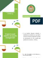 Cartilha- AUXÍLIO EMERGENCIAL