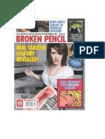 brokenpencil tabloid issue 42 cover