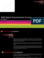 Digital Entertainment Survey 2008_Full Report