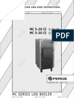 Perge Brochure Installation and User Instructions