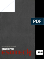 Gradiente Manual Esotech Sd-II 0