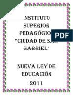 NUEVA LEY DE EDUCACION
