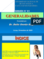 SESION 01 - GENERALIDADES