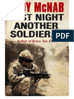 Last Night Another Soldier - Andy McNab
