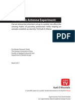 The Human Antenna Experiment