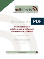 Andueza Olmedo, María_An Elucidation of Public Sound Art Through Non-sonorous Tradition