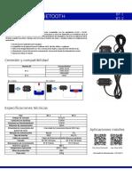 Ficha Técnica Adaptador Bluetooth del Regulador ML