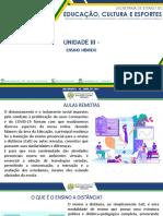 Leitura Obrigatória I - Unidade III - Ensino Híbrido (1)