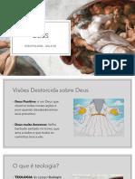 AULA 02 - DISCIPULADO - Deus