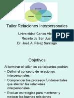 Taller Relaciones Interpersonales
