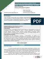 PET COMPLEMENTAR DE LÍNGUA PORTUGUESA DO 9º ANO (1º BIMESTRE) - EQUIPE DE LÍNGUA PORTUGUESA (1)