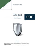 Test Management Plan