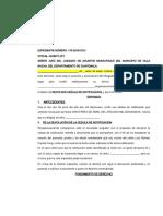 DEVOLUCION DE CEDULA DE NOTIFIACION