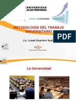 Ayuda Sem 1 - La Universidad