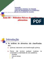 2021-Métodos físicos de análise em alimentos