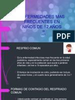 ENFERMEDADES MAS FRECUENTES EN NIÑOS DE 12 AÑOS arley fernando sanchez restrepo
