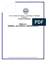 Sheet 1 - Solution - EE218