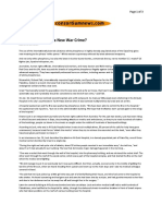 01-17-09 Consortiumnews-Is Israel's Gaza War a New War Crime~ by Dennis Bernstein