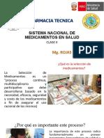 FARMACIA TECNICA CLASE II