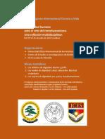 XXIII Congreso Internacional Ciencia y Vida - CONVOCATORIA.