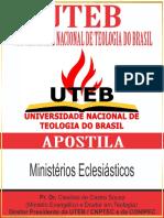 11 - Ministérios Eclesiásticos