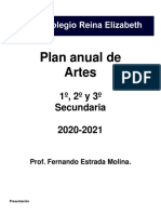 Plan anual de música Reina Elizabeth 2020 2021