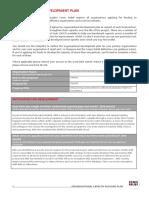 Organisational Development Plan - AAIS