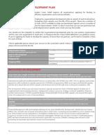 Organisational Development Plan - SOWDA