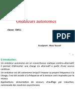 Onduleurs autonomes