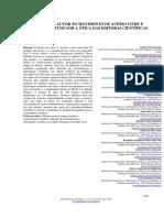 O Direito de Autor No Movimento de Acesso Livre e Aberto - Um Estudo Sob a Ótica Das Editoras Científicas