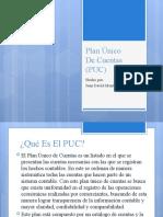 PLAN UNICO DE CUENTAS (PUC)