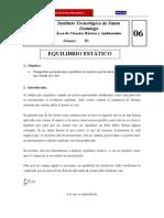 CBF210L Pract 06 (Suma de Tres Fuerzas en Equilibrio)
