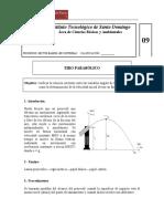 Pract 09 (Tiro Parabólico)