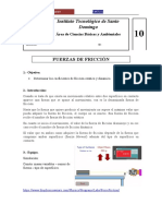 CBF 210L Practica 10 (Fuerza de Fricción)