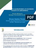 Álvaro Santos Pereira Impulsando La Productividad y El Crecimiento Inclusivo en Latinoamérica