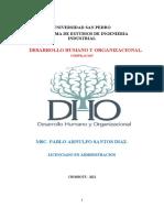 Desarrollo Humano y Organizacional