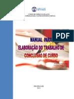 MANUAL DE ESTRUTURA TCC  ESTÁGIO