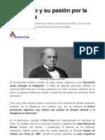 Sarmiento y la patagonia