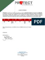 CERTIFICACION IPROTECT SSZ377