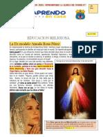 aprendo en casa anecdota Amada Rosa Perez 2020
