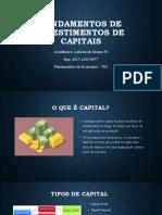 Fundamentos de investimento de capitais