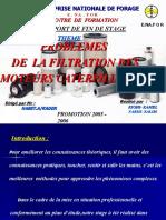 PROBLEMES DE  LA FILTRATION DES  MOTEURS CATERPILLAR 3500