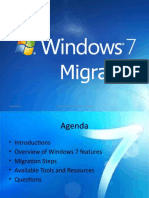 Win7 Features, Issues and Migration - Overview