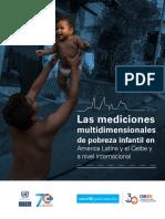 PDF Las Mediciones Multidimensionales de Pobreza Infantil en América Latina y El Caribe y a Nivel Internacional