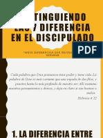Distinguiendo Las 7 diferencia en el discipulado