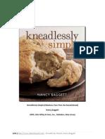 Yoğrulmayan Ekmek Yöntemi ve tarifleri