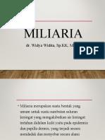 Miliaria Dr. Wiwi
